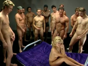 The gangbang girl...