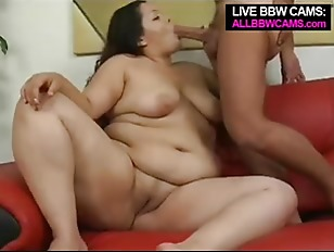 Brunette fatty blow my...