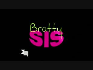BrattySis - Surprised My StepSis With A Creampie