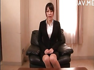 Picture Office Secretary Has Interview For Job