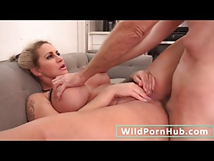 Blonde MILF with big tits fucked in her ass - Part 2 on WildPornHub.com