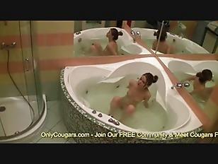 Hot busty sex shower