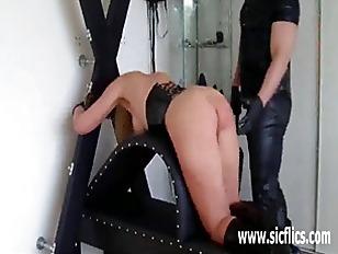 Horny Slave Girls Fist...