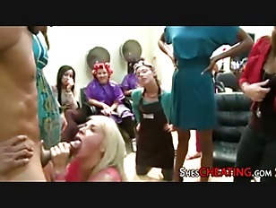 Bachelorette With Bigcock Dancing...