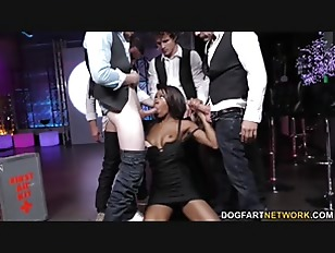 Nadia Jay Gets Gangbanged...