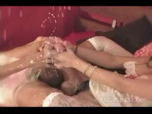 Cock and cum  a tribute to futanari
