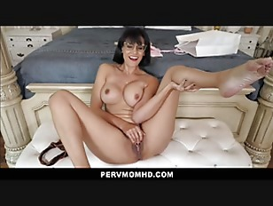 Big Tits Step Mom Orgasms To Her Big Dick Step Son Jerking Off POV