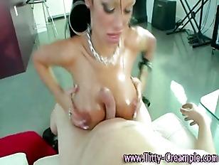 Busty Slut Cock Suck...