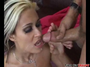 Blonde Sucks Dick...