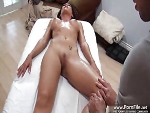 Picture Capri Cavalli Is Back For Another Massage. P...