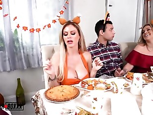 A Cuckold Family Thanksgiving Kali Rose