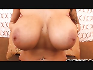 Picture Busty Milf Alia Janine Tit Fucks A Load Out...