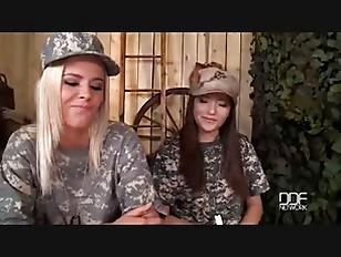 Military lesbian porn