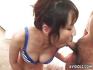 Picture Cute Asian Babe Hot Blowjob
