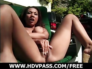 Solo Playing Asian Babe...