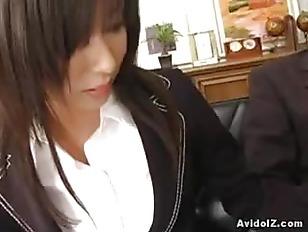 Sexy Secretary Satomi Maeno...