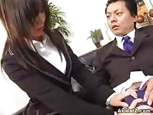 Picture Sexy Secretary Satomi Maeno Sucks An Ugly Di...