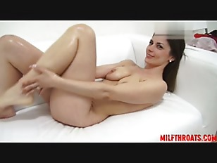 Picture Busty Brunette Masturbating On Casting Couch