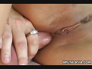 Picture Busty Brunette Asian Slut Gets To Be Double...