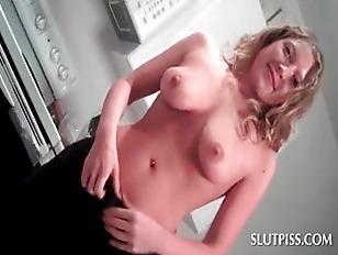 Busty Blonde Sex Siren...