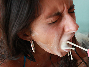 Picture Nikki Daniels Facial Blasted Pornstar