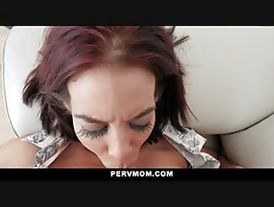 PervMom Stepmom Sucks My Cock For Therapy