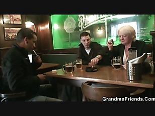 Boozed Granny Double Fucked...