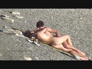 Horny European teens are having orgy on the beach