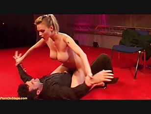Hot lapdance show with...