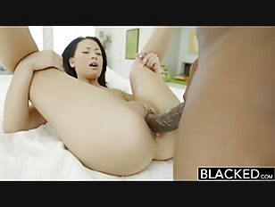 BLACKED Teen beauty tries...