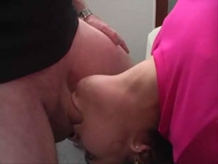 This girl loves to suck cock