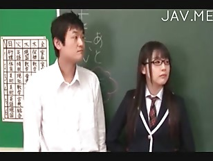 Picture Hot Jap Teacher Wear Glass Sex In Classroom