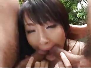 Japanese Rika Threesome...
