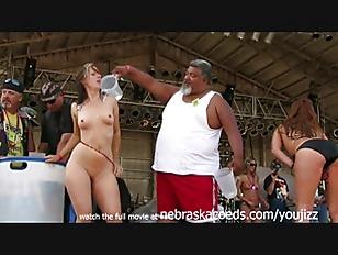 Public in babes biker naked