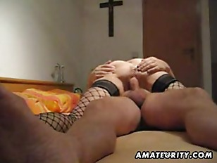 Picture Mature And Busty Amateur Wife Blowjob With A...