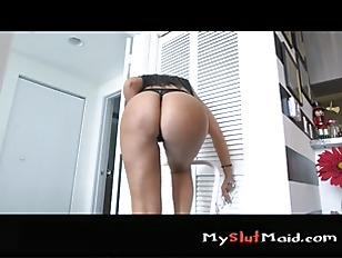 Cute Maid Sucking Dick...