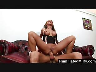Picture HumiliatedMilfs Krisztina Makes Her Ass Gape...