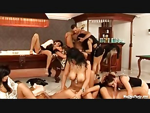 Picture Young Chick In Orgy Party