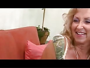 fit blonde interracial - Fit Blonde Granny in Stockings