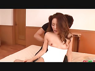Flaming Asian action on...