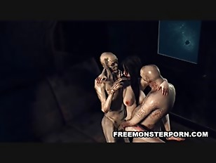 Sexy Infected 3D Cartoon...