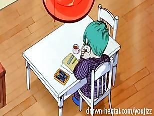 Dragon Ball Z Hentai - Bulma for two