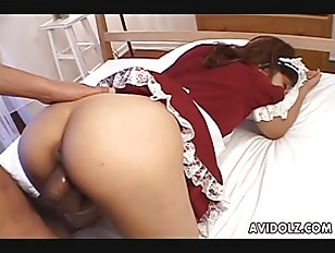 Picture Hot And Sexy Maid With Pointy Nipples Gettin...