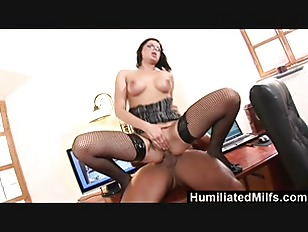 Humiliatedmilfs - this blond milf truly delivers full service