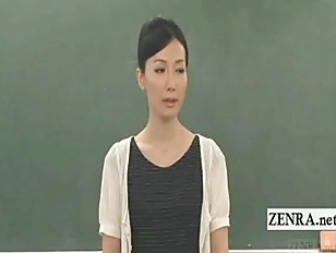 Subtitled CFNM Japan Nudist...