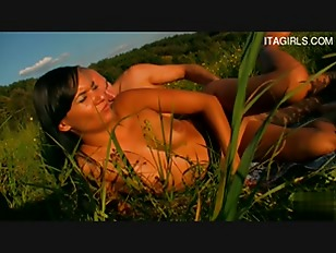 Picture Brunette Hot Chick Outdoor Fuck