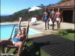 Brazilian Gangbang...