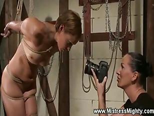 Lez Domina Photographs Slave...