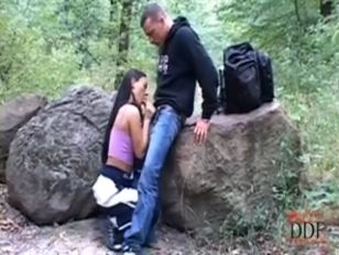 Picture Valentina Velasques Outdoor Blowjob