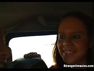 Threesome In Da Hummer...